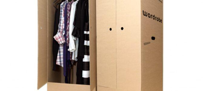 Zašto pakovati garderobu u kutije za selidbe?